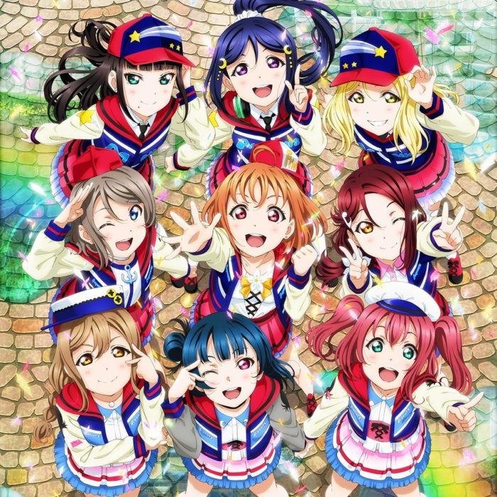Poster shot of the LoveLive! Sunshine movie.  © 2019 PROJECT LOVELIVE! SUNSHINE!! MOVIE