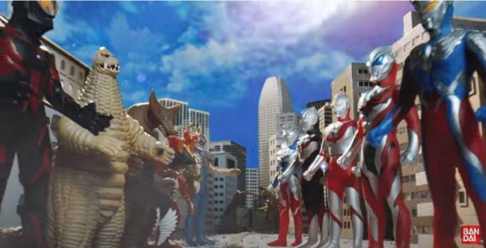 Bandai Ultra Sofubi Series feat. Ultraman Trigger CM